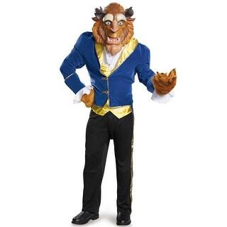 Disguise Beast Ultra Prestige Adult Costume - Blue/Yellow