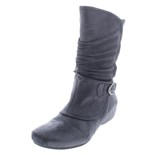 b6fe6e9c5bf5 Shop Baretraps Womens Shelby Mid-Calf Boots Lined Wedges - 6 medium ...