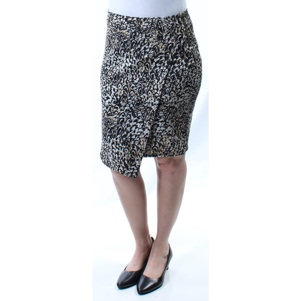 c596ed549d3257 Shop Womens Black Below The Knee Tulip Wear To Work Skirt Size L - Free  Shipping On Orders Over $45 - Overstock - 21299841