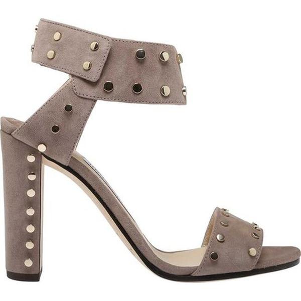 29aaf8996a1c Jimmy Choo Women  x27 s Veto 100 Suede Studded Block-Heel Sandal Light