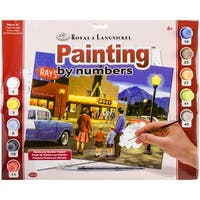 """Paint By Number Kit 15.375""""X11.25""""-A Night At The Movies"""