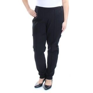 Womens Black Wear To Work Skinny Pants Size XXL