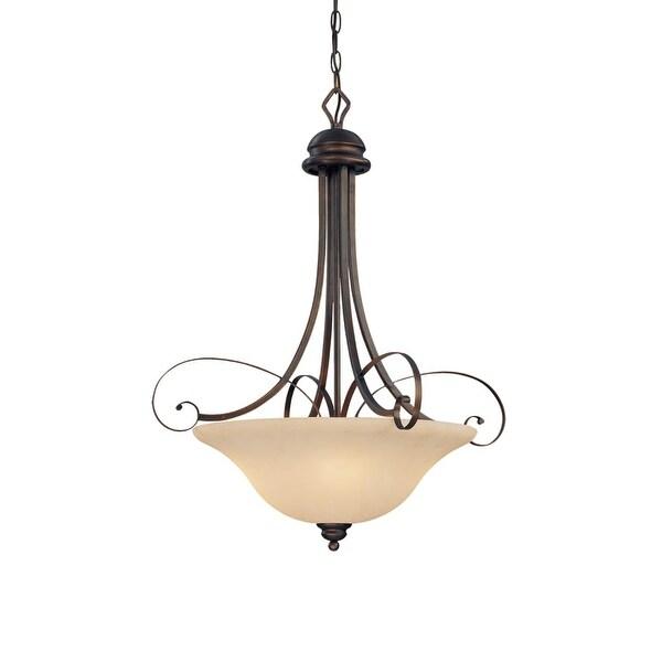 Millennium Lighting 1054 Chateau 4 Light Pendant - Rubbed bronze