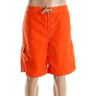 Polo Ralph Lauren Mens Mesh Lined Side Pocket Swim Trunks