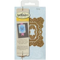 Spellbinders Shapeabilities Die D-Lites-Fancy Label Tags 4
