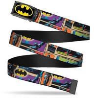 Batman Fcg Black Yellow Black Frame Dark Knight Poses W Batman Shield Web Belt