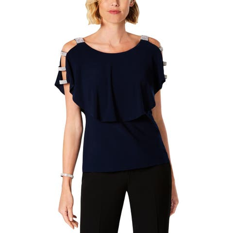 a40f3ad0c1c7cc Blue MSK Tops | Find Great Women's Clothing Deals Shopping at Overstock