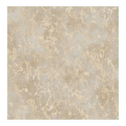 Imogen Beige Faux Marble Wallpaper - 20.5 x 396 x 0.025