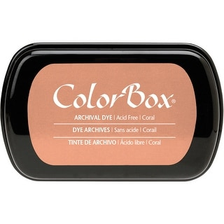 ColorBox Archival Dye Ink Pad-Coral - Orange