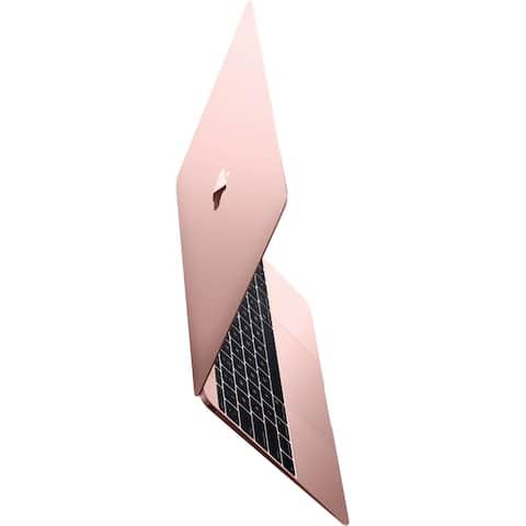 "Apple MacBook MMGL2LL/A 12"" 8GB 256GB Intel Core M3-6Y30,Rose Gold (Certified Refurbished) - Rose Gold"