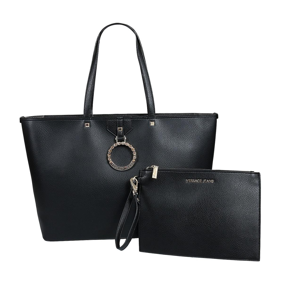 Versace EE1VTBBA6 E899 Black Tote Bag