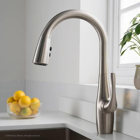 Kraus KPF-1670 Esina 1-Handle 2-Function Pulldown Kitchen Faucet
