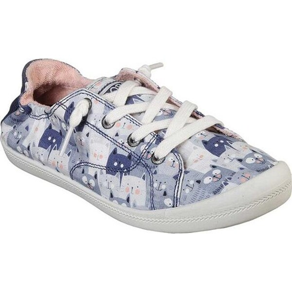 Shop Skechers Women's BOBS Beach Bingo Kitty Concert Sneaker