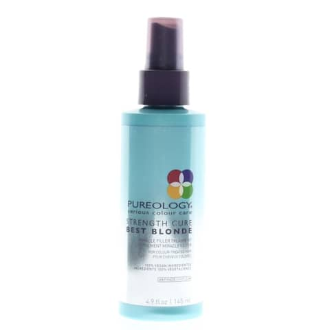 Pureology Strength Cure Best Blonde Miracle Filler Hair Treatment 4 9Oz/145Ml