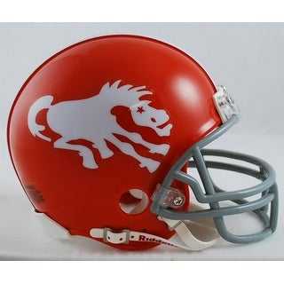 Denver Broncos 19621965 Throwback Riddell Mini Football Helmet