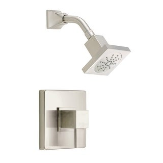 Danze D500533T  Pressure Balanced Shower Trim Package with Single Function Shower Head From the Reef Collection (Less Valve)