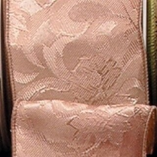 "Amber Self Edge Safari Craft Ribbon 4"" x 20 Yards"
