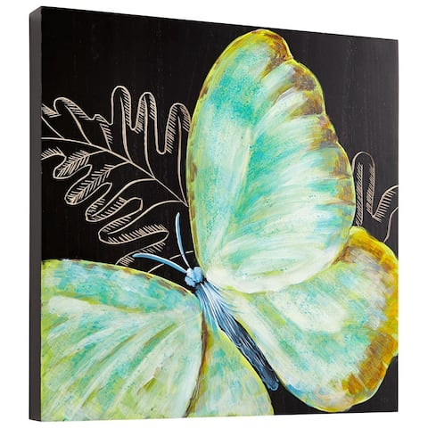 Cyan Design Papillion Wall Art Papillion 15.75 x 15.75 Wood Wall Art
