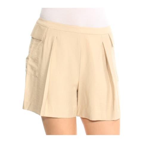 VINCE CAMUTO Womens Beige Short Size: 6