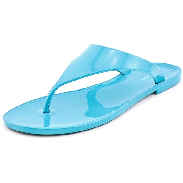 c10af743ab7a BCBGeneration Starr Flat Thong Sandals Women Synthetic Blue Thong Sandal