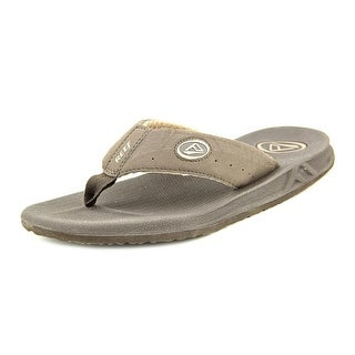 Reef Fanning Open Toe Synthetic Flip Flop Sandal