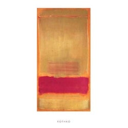 ''Untitled, 1949'' by Mark Rothko Abstract Art Print (39.5 x 19.75 in.)