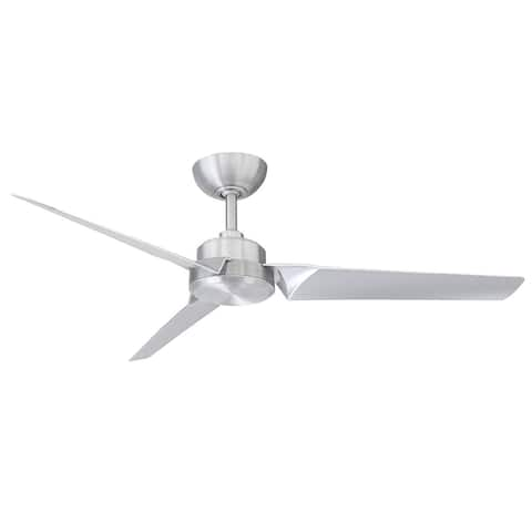 Roboto Indoor Outdoor 3-Blade Smart Ceiling Fan 52in with Remote Control