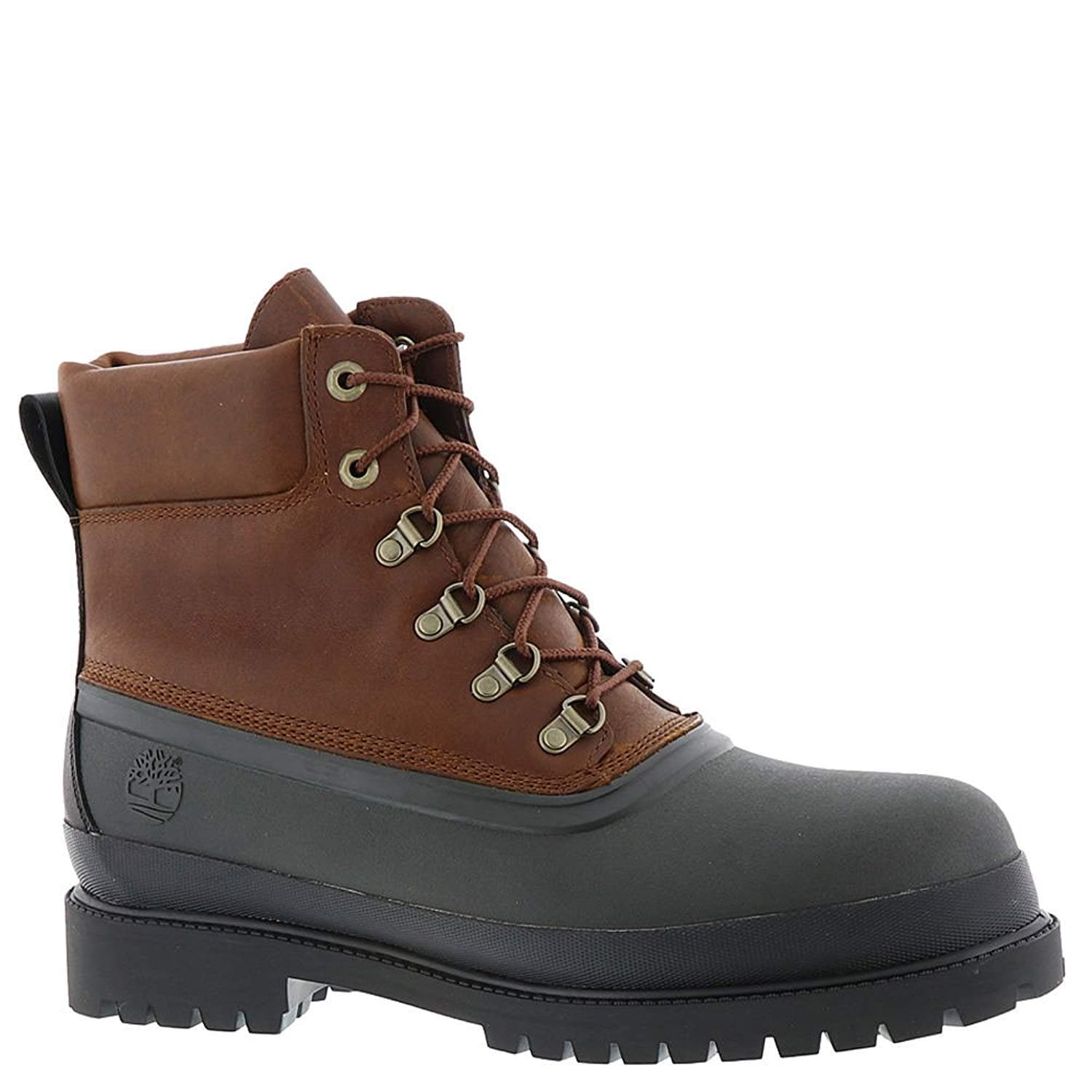 finest selection 75d0c 24026 Shop Timberland Icon Rubber Toe Winter Boot - Men s - Free Shipping Today -  Overstock - 23534527 - Brown Full-grain - 11.5