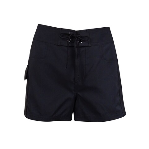 Jag Women's Solid Cargo Laced Board Shorts