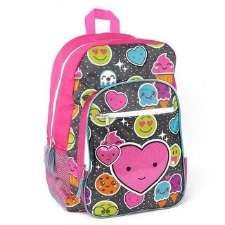 Trailmaker Girls Emoji Print Backpack