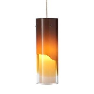 Forecast Lighting FQ0002062 A La Carte Amber Glass Shade from the Capri Collecti