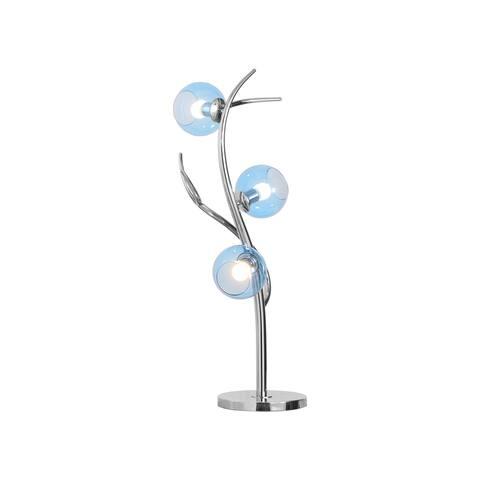 "EnV 37"" 3-Globe Glass Table Lamp"