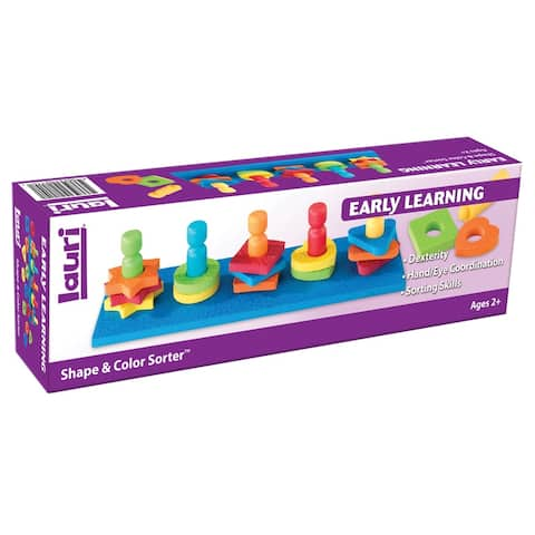 Lauri shape & color sorter ages 2-6 2114