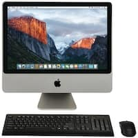 "Apple Mb323Ll/A/C2D/2.4/4Gb/250Gb/10.11 20"" Refurbished Imac(R) Desktop Computer"