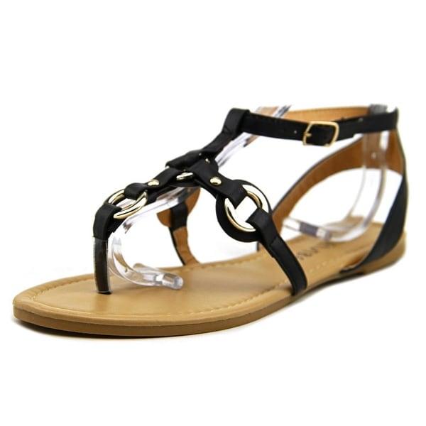 ShoeVibe Hudson Women  Open Toe Synthetic Black Sandals