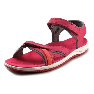 Keen Harper Youth Round Toe Synthetic Pink Fisherman Sandal