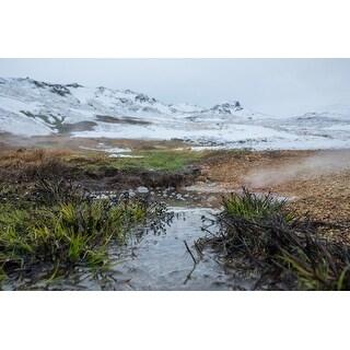 Mountain And Stream Photograph Unframed Fine Art Print