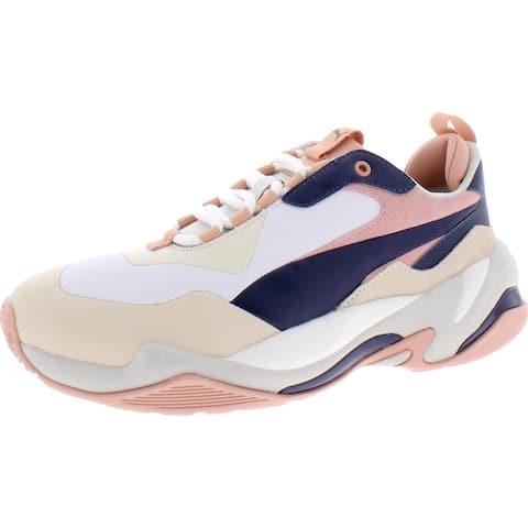 Puma Womens Thunder Rive Gauche Casual Shoes Lifestle Chunky - Dress Blues/Peach Beige