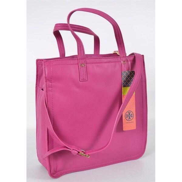 67fba1f216c Shop Tory Burch Violet Party Fushia Napa Leather Crossbody Purse Bag ...