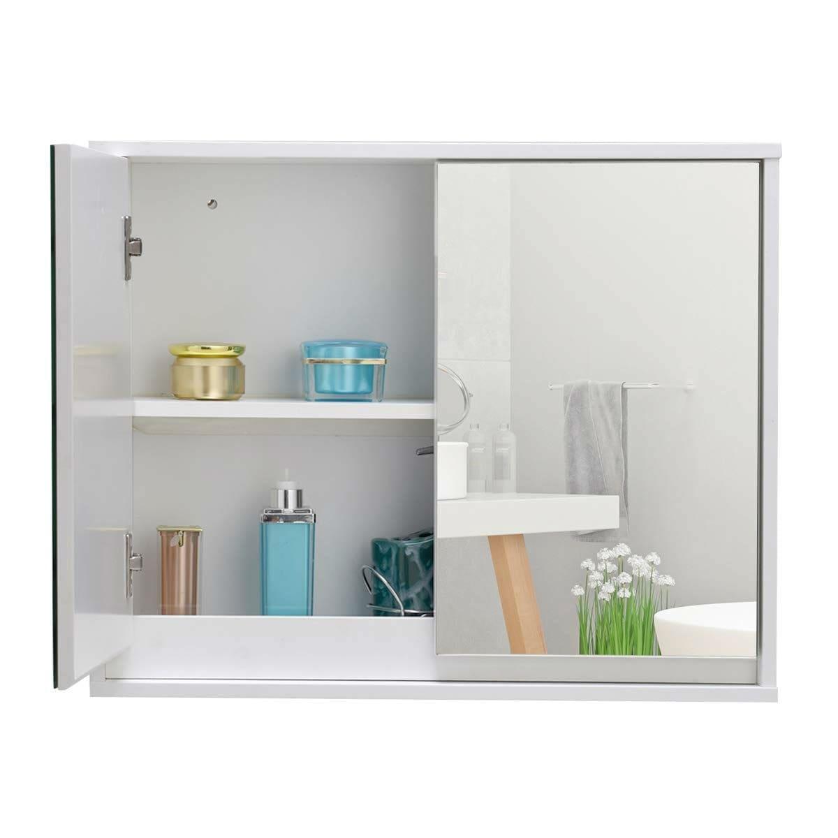 Modern 22 X 18 Inch Bathroom Wall Mirror Medicine Cabinet 22 X5 5 X18 L X W X H Overstock 29084504