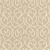 Brewster DL30451 Alouette Taupe Mod Swirl Wallpaper