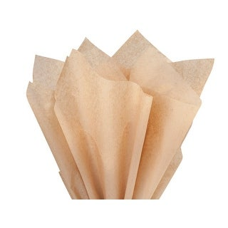 "Pack Of 1, Solid Kraft Recycled Tissue Paper 15 X20"", 960 Sheets/Package Made In Usa"