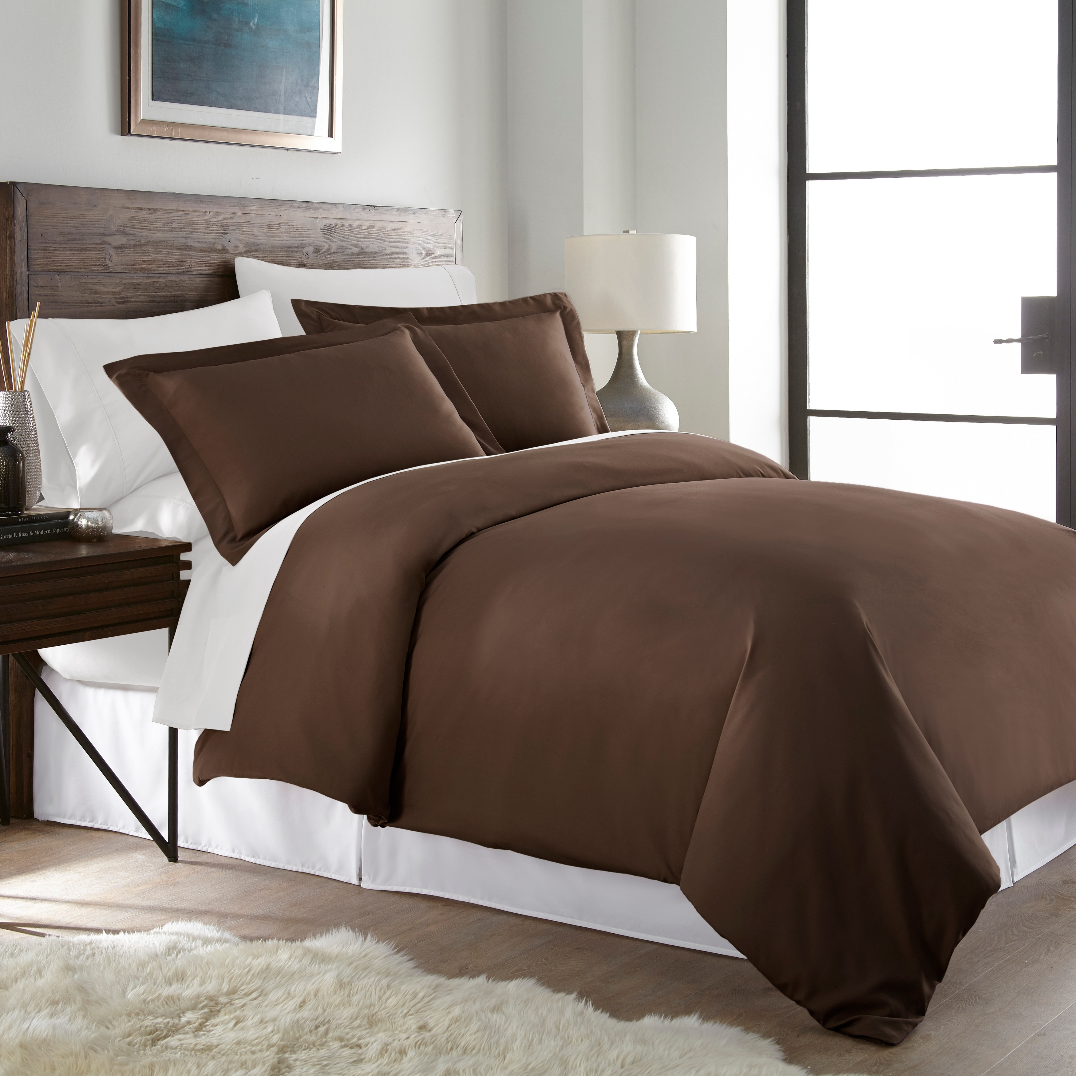 Hotel Luxury Ultra Soft 3pc Duvet Cover Set, 1500 Series Premium Collection  (2 Options