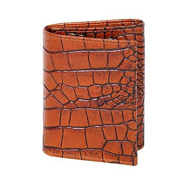 Scully Western Wallet Mens Leather Tri-fold Bill Divider Pocket - One size
