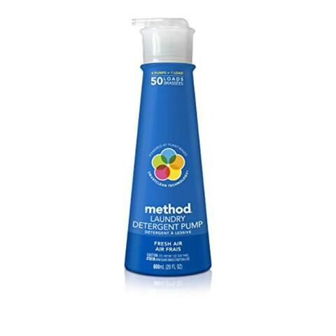 Method 01127 Fresh Air Laundry Detergent Pump, 50 Loads, 20 Oz