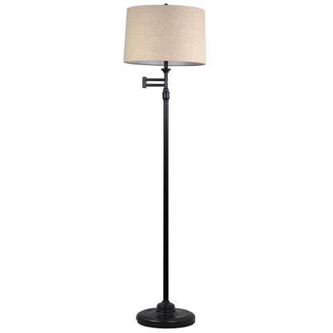 Aaron Swing Arm Floor Lamp