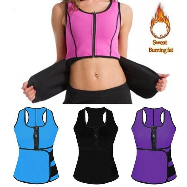 Women's Body Slimming Vest With Abdomen Strap Fitness Slim Waist Slimming Yoga Wear. Opens flyout.