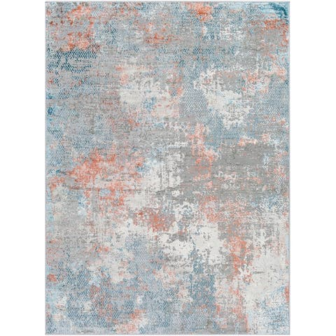 Petrovic Modern Abstract Area Rug