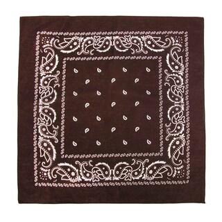 CTM® Cotton Paisley All-Purpose Bandana - One size