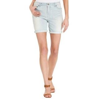 Calvin Klein Jeans Womens Juniors Casper Denim Shorts Skinny Boyfriend